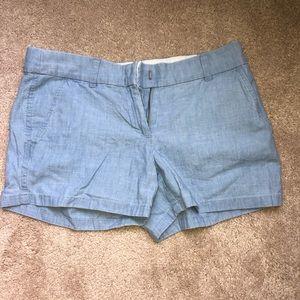 "J crew chino 4"" shorts size 4"